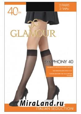 Glamour symphony 40 gambaletto, 2 paia
