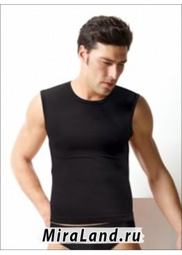 Intimidea uomo t-shirt girocollo smanicata