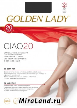 Golden Lady ciao 20 gambaletto, 2 paia