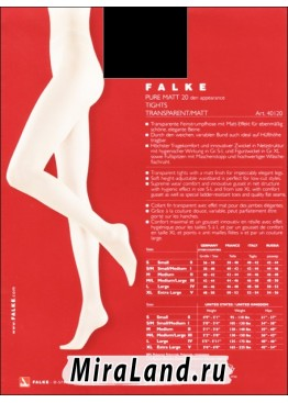 Falke art. 40120 pure matt 20