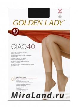 Golden Lady ciao 40 calzino, 2 paia