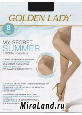 Golden lady my secret 8 summer