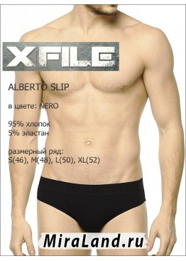 X file alberto slip