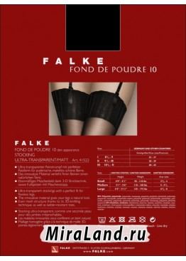 Falke art. 41522 fond de poudre 10 stocking