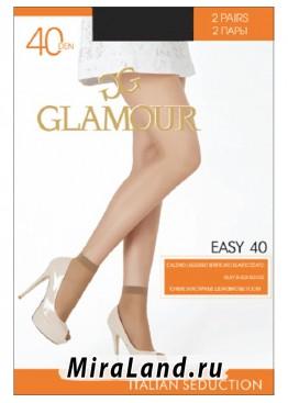 Glamour easy 40 calzino, 2 paia