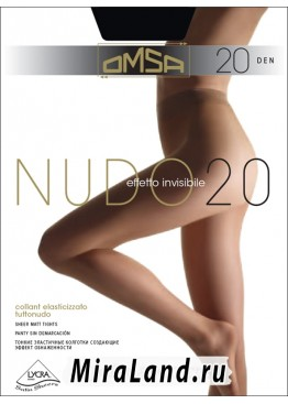 Omsa nudo 20