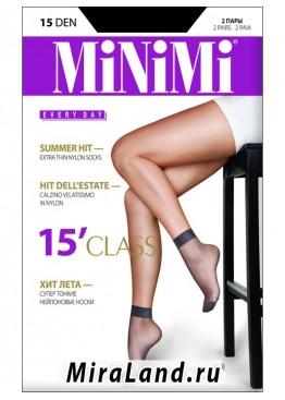Minimi class 15 calzino, 2 paia