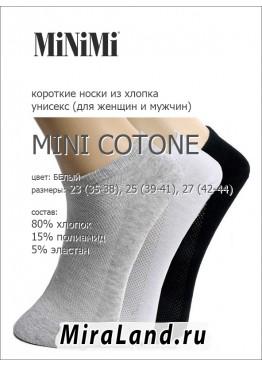 Minimi mini cotone calzino